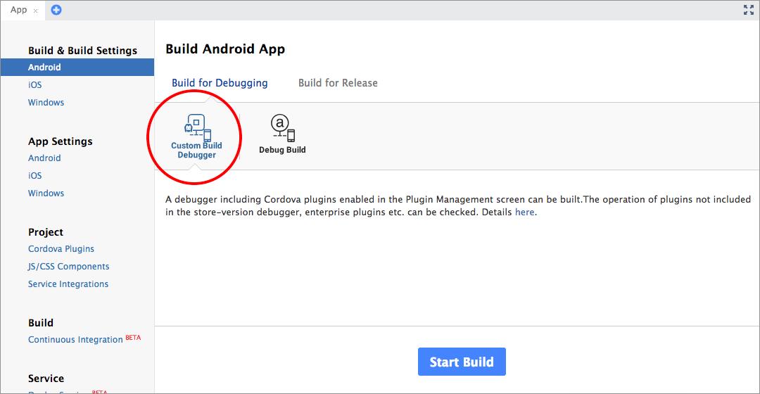 Monaca Debugger for Android | Monaca Docs
