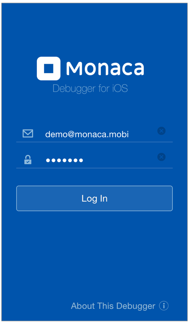 Monaca Debugger for iOS | Monaca Docs