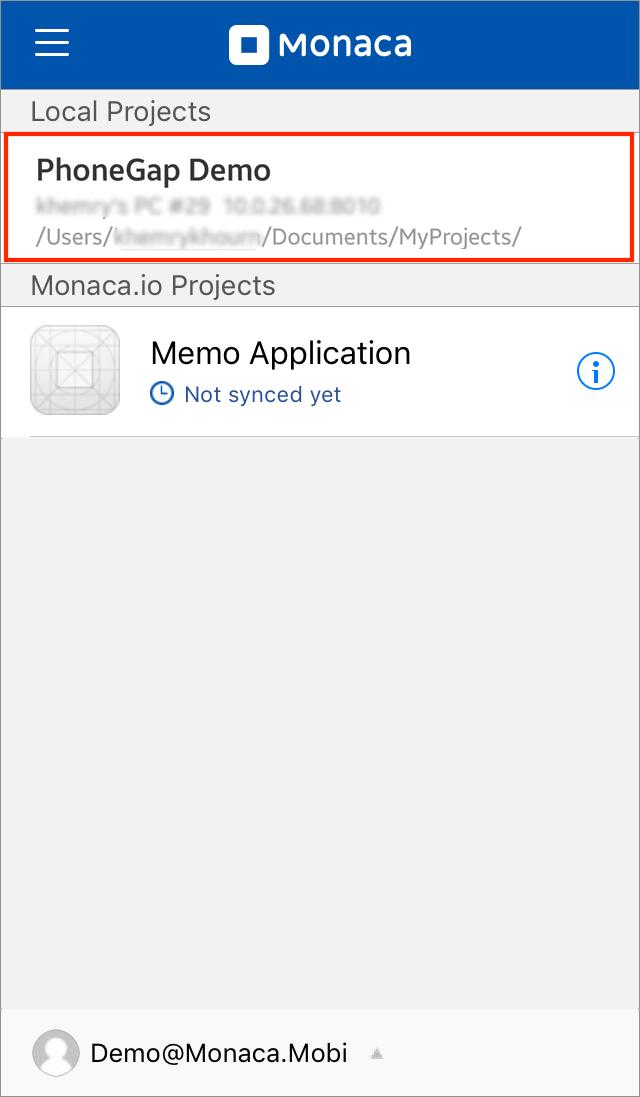 Guide for PhoneGap Desktop App Users | Monaca Docs