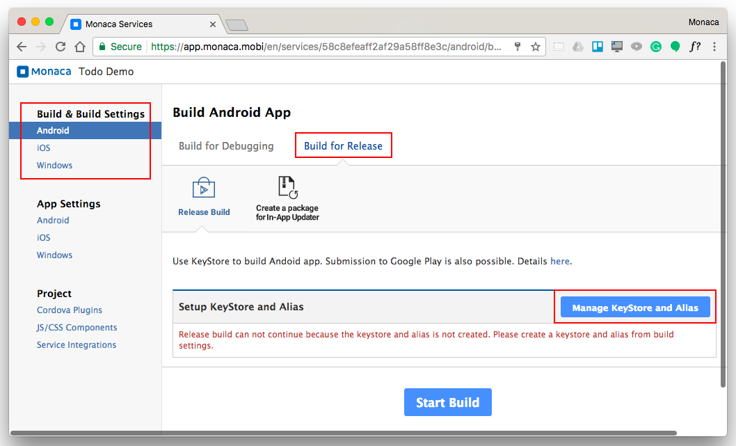 Part 3: Building Monaca App | Monaca Docs