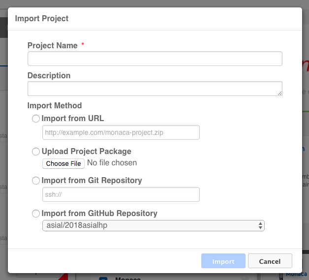 Part 1: Starting a Project | Monaca Docs