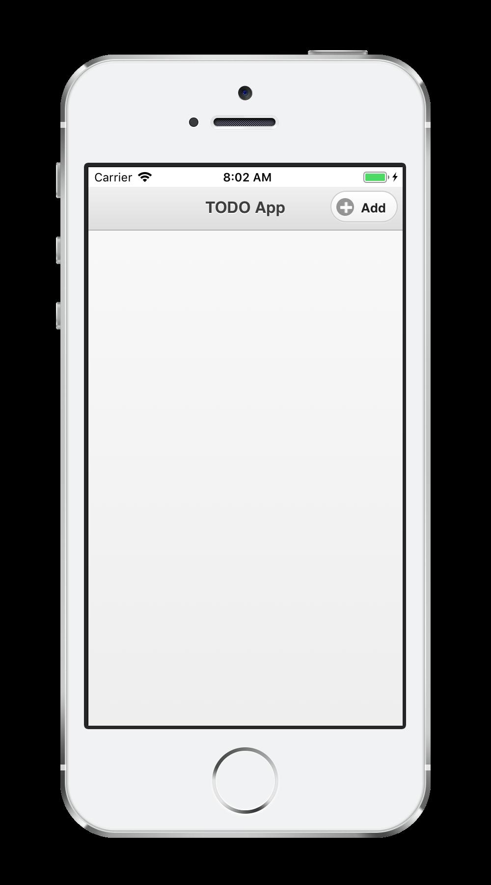 TODO App | Monaca Docs